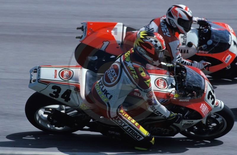 MOTO GP AUTRICHE 1993 SCHWANTZ ET GARDNER