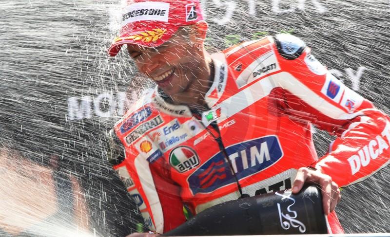 MOTO GP DE FRANCE 2011 PODIUM ROSSI