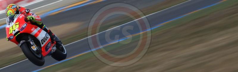 MOTO GP DE FRANCE 2011 V ROSSI TEAM DUCATI
