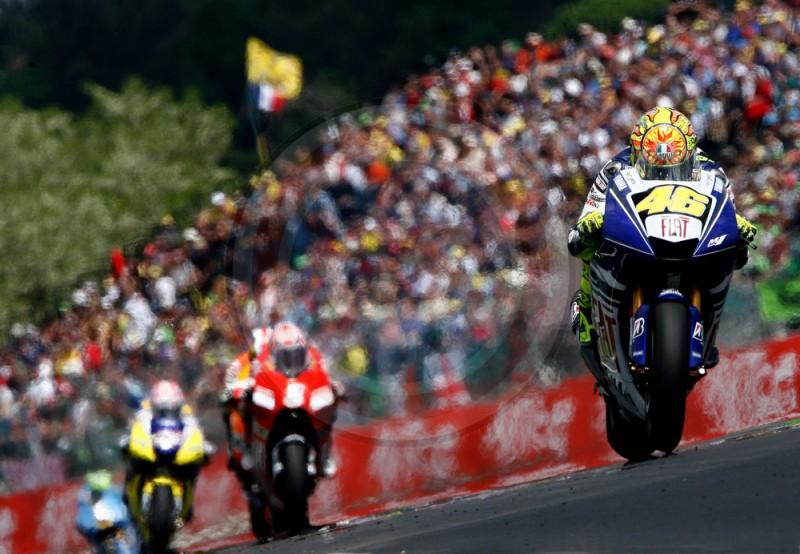 MOTO GP DE FRANCE V ROSSI 2008