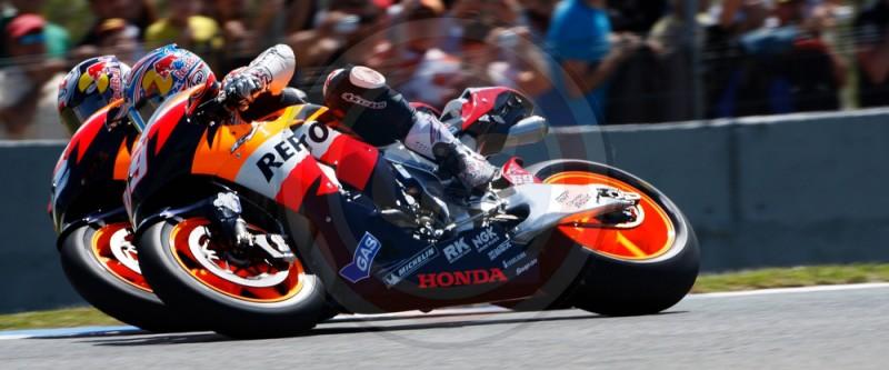 MOTO GP DESPAGNE 2017 TEAM HONDA RESPSOL