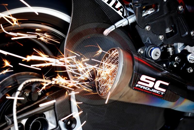MOTO GP DUCATI PRAMAC EXSHAUTS 2013
