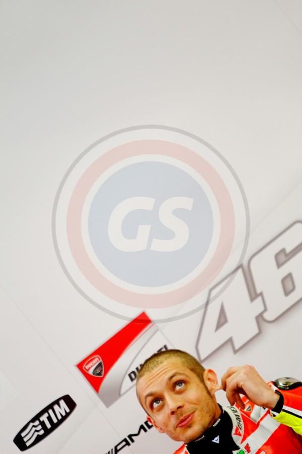 MOTO GP JEREZ 2011 V ROSSI STAND